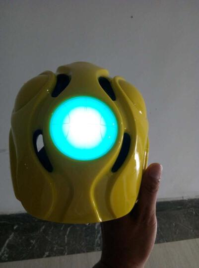 LIVALL 力沃智能儿童头盔轮滑护具自行车骑行滑板溜冰男女小孩青少年安全帽带灯光 KS2黄色 均码 晒单图