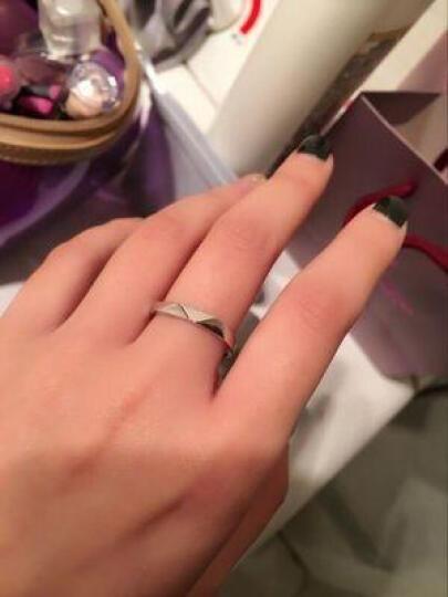 爱情公寓情侣戒指925银开口对戒指环仿真钻戒子婚戒刻字 一对价 韩版时尚首饰品 热销 永远的爱 情侣戒指  送手链 晒单图