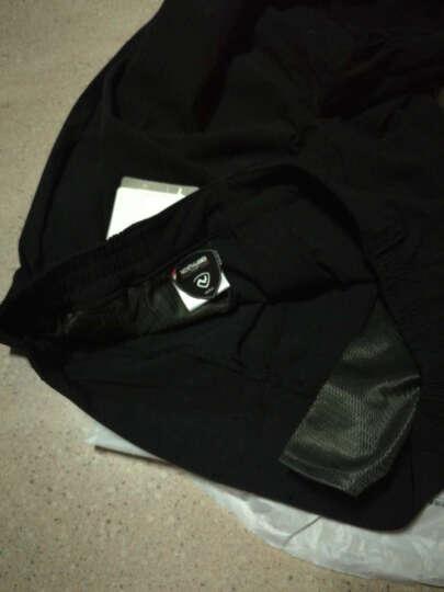 诺诗兰(NORTHLAND)男式户外休闲透气舒适快干长裤 GQ065701 黑色 L-175 晒单图