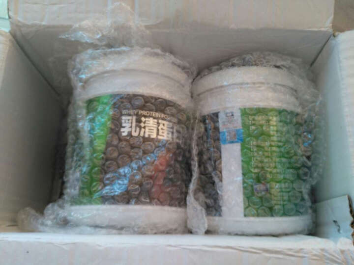 【买2送1】哈贝高乳清蛋白粉 增肌粉 增肥健身 健肌粉 增重产品 巧克力味450g/桶 晒单图