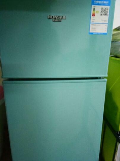 帕琪丝(Patches)BCD-102  双门小冰箱 冷藏冷冻 家用两门小型冰箱 预售 浅葱绿 晒单图