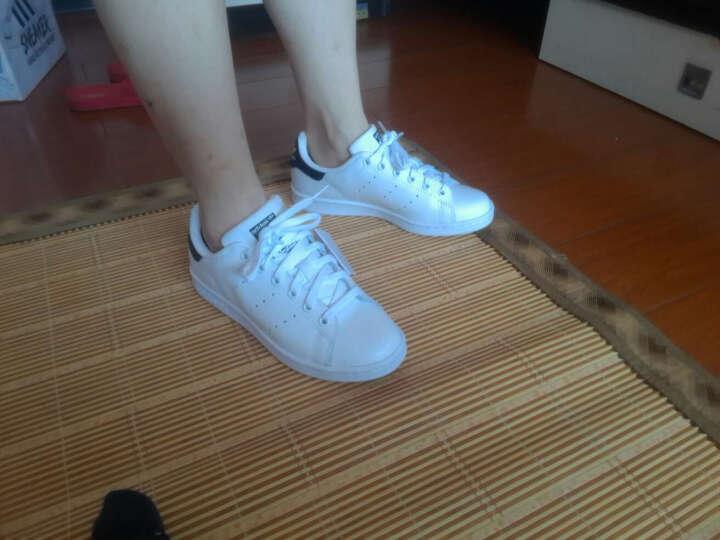 Adidas阿迪达斯三叶草男鞋女鞋运动休闲鞋史密斯绿尾休闲情侣板鞋M20324/YZ M20325 36 晒单图