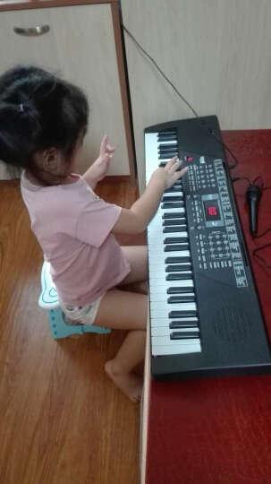 勾勾手(GOUGOUSHOU) 61键儿童玩具电子琴 初学者多功能早教益智液晶显示乐器 入门电子琴+彩色琴谱+水晶琴键贴 晒单图