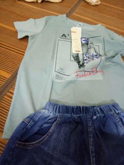 艾杰尔品牌童装男童T恤儿童T恤上衣冬装17冬季男女中大童HDS加绒加厚长袖T恤卫衣打底衫 黄  色 160建议身高150-160cm 晒单图