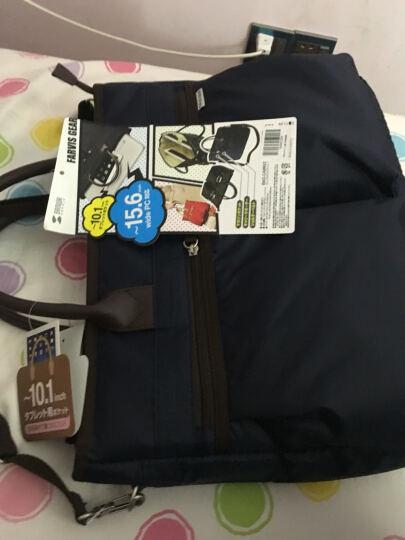 山业 日本SANWA 15.6英寸休闲笔记本电脑包 电脑收纳包 单肩手提 BAG-CA9 深蓝色 晒单图