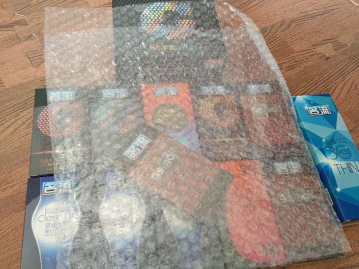 名流 避孕套 男用 安全套 套套 超薄 纤薄002礼盒72只装纤薄礼盒 大颗粒   两只1g套 晒单图