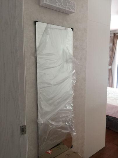 伯仑 无框试衣镜子 穿衣镜 壁挂 全身镜 挂墙 化妆镜 梳妆镜 50*150cm磨斜边 晒单图