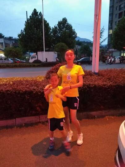 元帅车亲子装夏天黄色短袖T恤一家三口四口亲子服饰 亲子装夏季套装 童6-110-5-6岁 晒单图