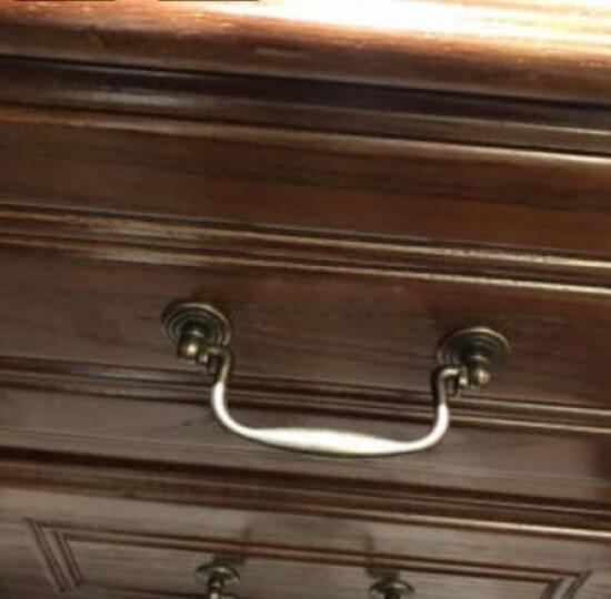 LAGO 床头柜 斗柜 美式实木床头柜储物柜白蜡木床边柜卧室家具 床头柜【白蜡木框架8B02】 晒单图