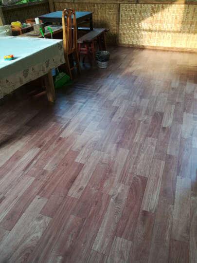 加厚地板革 耐磨防水 塑胶地板卷材 家用地板纸pvc地板胶工程革 1.0mm厚工程革GH009 晒单图