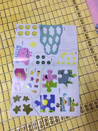 3-6岁综合能力开发趣味贴纸书:专注力+判断力+表现力+创造力+语言能力+理解力(套装共6册) 晒单图
