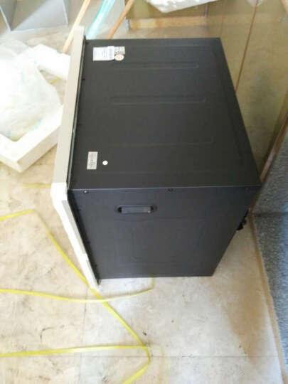 森太(SETIR) F280消毒柜嵌入式家用厨房消毒碗柜 黑色钢化玻璃轻触按键款 黑色一体冲压款 晒单图