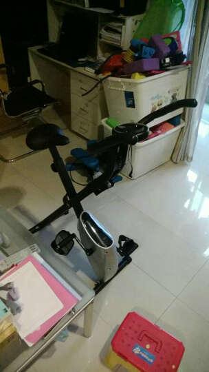 室内健身车 可折叠磁控静音骑行单车 配扭腰盘 俯卧撑架家用运动健身器材 PUKO917es 晒单图
