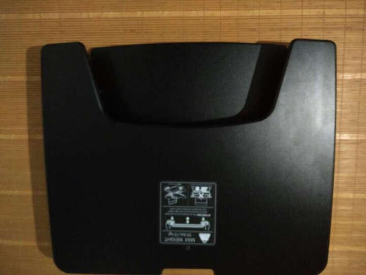 Brateck 站立办公升降台式电脑桌 台式笔记本办公桌 可移动折叠式工作台书桌 笔记本显示器支架DWS04-02黑色 晒单图
