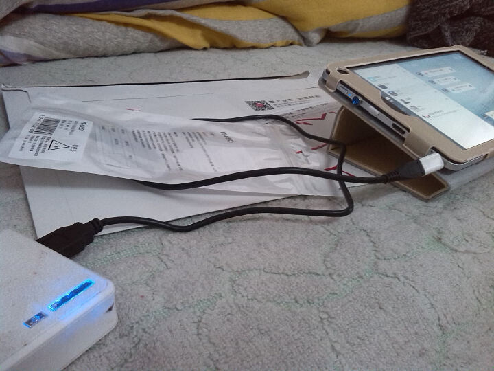 IT-CEO Micro 5pin OTG数据转接线 适用于手机平板电脑小米盒子接U盘/鼠标usb接口 黑色 Y1OTG 晒单图