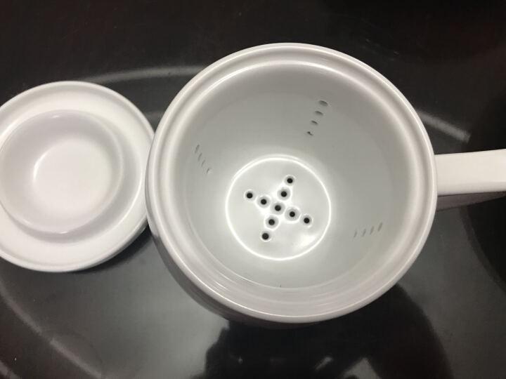 享礼 手绘茶杯陶瓷带盖过滤办公室茶具景德镇品茗杯主人杯单杯个人杯花茶水杯子紫砂杯泡茶喝茶杯茶水分离 盛开荷花 晒单图