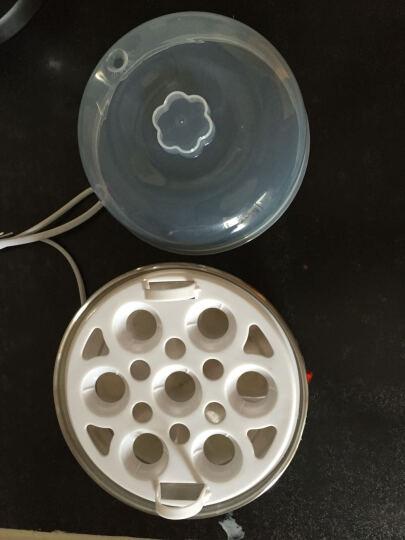 麦卓(MAKE JOY)ZD32蒸蛋器多功能煮蛋器 家用迷你自动断电不锈钢蒸蛋机早餐机 双层粉色 晒单图