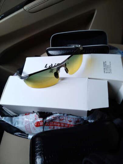 威斯贝斯 太阳镜男款变色墨镜司机偏光驾驶镜太阳眼镜运动款航空铝镁夜视镜日夜两用 枪框变色片/日夜两用 晒单图