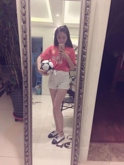 哈恩达斯(Handas)足球 成人比赛足球训练耐磨软PU机缝青少年儿童5号4号足球 5号超级PU足球-JD702 晒单图