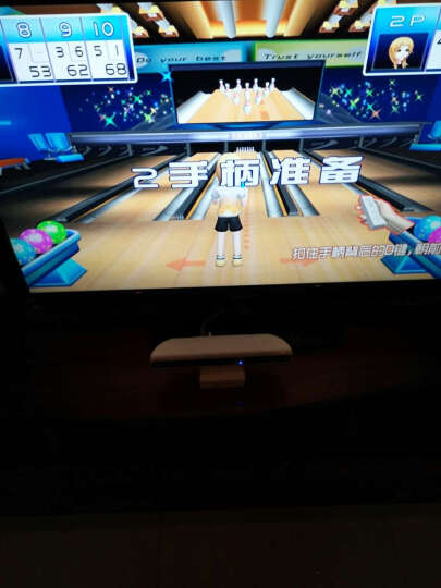 小霸王G80高清家用游戏机双人亲子无线电玩动感连接电视体感游戏机 双手柄套餐+瑜珈毯 晒单图