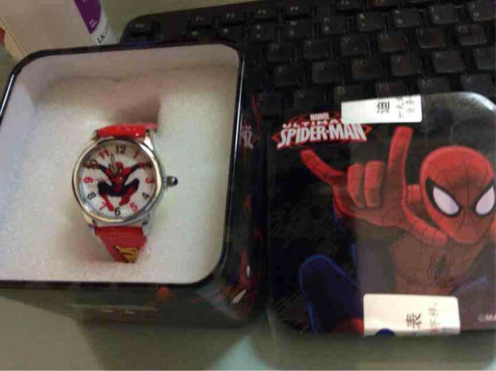迪士尼(Disney)儿童手表小学生创意时尚蜘蛛侠手表夜光指针石英男童手表红色 MV-81009R 晒单图