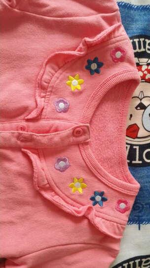 纤丝鸟(TINSINO)童装儿童新款男童女童抓绒卫衣开衫外套THY0533438M1 字母潜水熊 苹果绿 73 晒单图