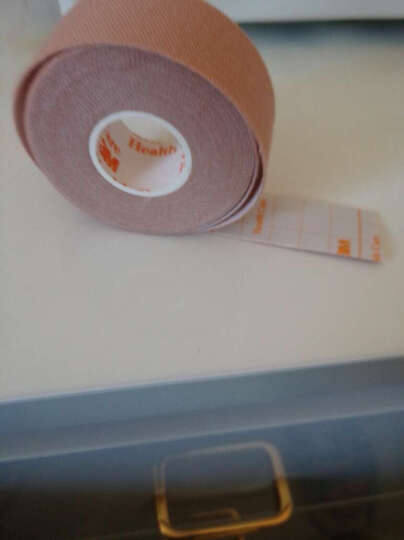 3M 2733-75加压固定胶带 鼻胃饲管固定胶带粘着性棉布胶带 2.5cm*5m宜拉胶带 晒单图