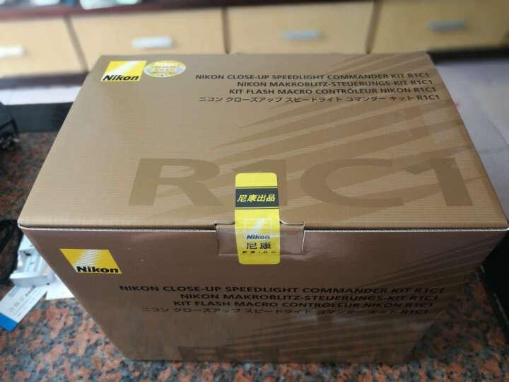 尼康(Nikon) R1C1 环形闪光灯套装含SB-R200灯/SU-800引闪器、牙科/微距专用. 套餐一 R1C1套灯+三节CR123A一次性电池 晒单图