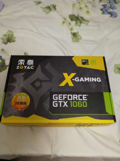 索泰(ZOTAC)Geforce GTX1060-3GD5 X-GAMING OC 1569-1784MHz/8008MHz 3G/192bit GDDR5 PCI-E显卡 晒单图