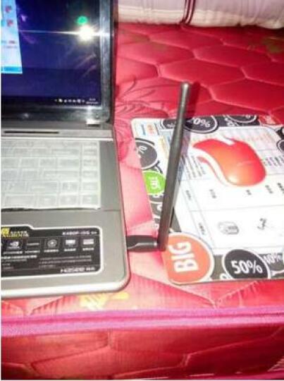 蚂蚁邦(antbang) N1 免驱动无线网卡 台式笔记本电脑随身wifi接收器无线USB网卡发射器 黑色 晒单图