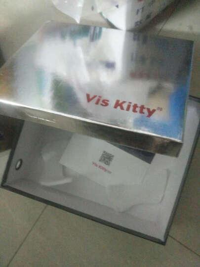 vis kitty新品 时尚潮牌 专柜正品 大牌工艺 厚底休闲凉鞋女 红色 38 晒单图