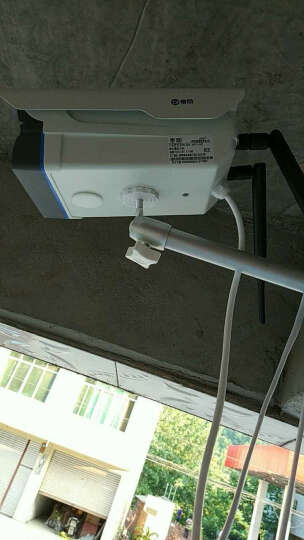 帝防无线监控摄像头室外防水1080p高清夜视网络wifi手机远程监控器家用日夜全彩户外一体机 720p-100万高清 4MM-不含存储卡 晒单图