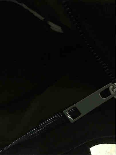 生活驿站纯白纯黑空白帆布包手绘包袋手提单肩包帆布袋学生包L 黑包男杀手 晒单图