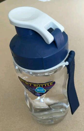 茶花(CHAHUA)塑料水杯随手杯多规格直纹杯 水滴纹 运动杯 家庭水杯 直纹3811容量430ml 晒单图