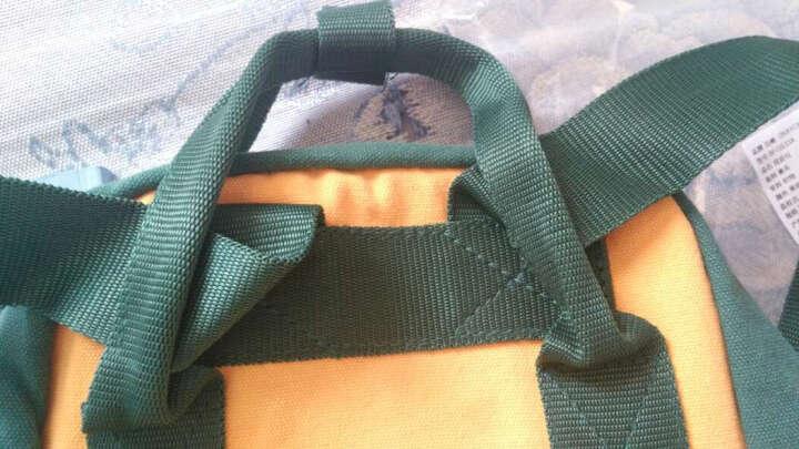 百峰(Baifeng)BF15S33A malta马耳他系列防泼水棉质帆布mini双肩包 黄绿色小号 晒单图