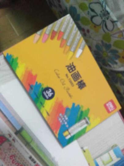 得力(deli)六角彩色笔杆2B铅笔学习考试铅笔 36支/桶58115 晒单图