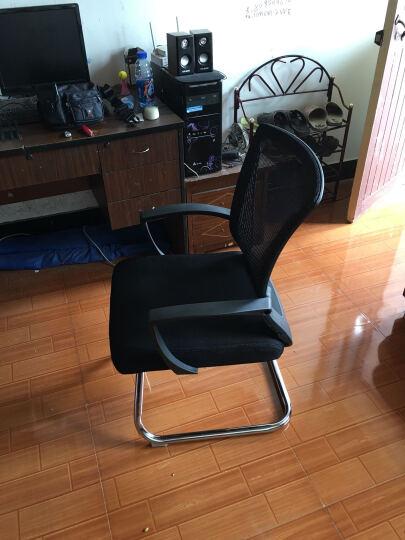 椅品汇 电脑椅办公椅老板椅可躺家用转椅升降会议椅弓形椅子W-05 黑框黑网弓脚款 钢制脚 晒单图