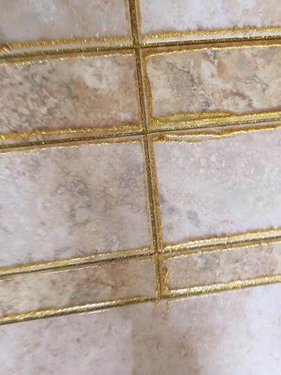 保实捷 瓷砖美缝剂 双组份瓷缝剂真瓷胶瓷砖勾缝剂美瓷胶填缝剂墙地砖美缝材料AB胶双管陶瓷胶 金箔金 晒单图