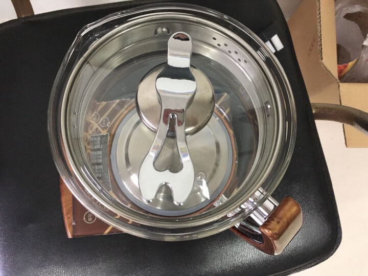 荣事金养生壶全自动玻璃加厚电热水壶花茶壶煮茶器黑茶煮茶壶多功能烧水一壶多用SD-G2500M2.5L 喜庆中国红 晒单图