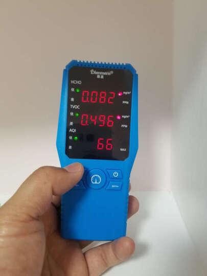 鼎盟(Dienmern) 甲醛检测仪家用 TVOC 空气质量检测仪盒  室内测甲醛测试仪器 时尚经典黑 晒单图