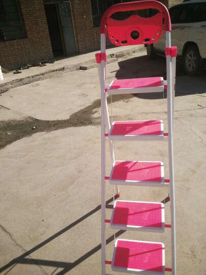 密林 家用梯 折叠梯 梯子人字梯 梯 五步梯 置物架防滑安全梯 ML_BTM05 五步梯 晒单图