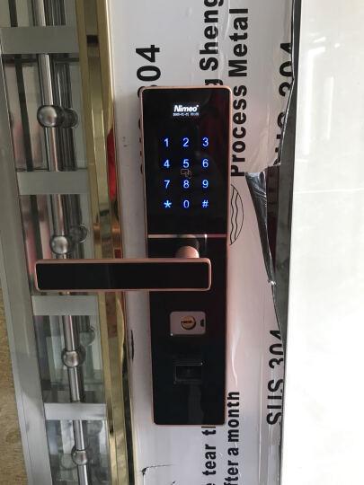 塞纳春天指纹锁电子门锁密码锁家用智能锁 SNCT-S3 晒单图