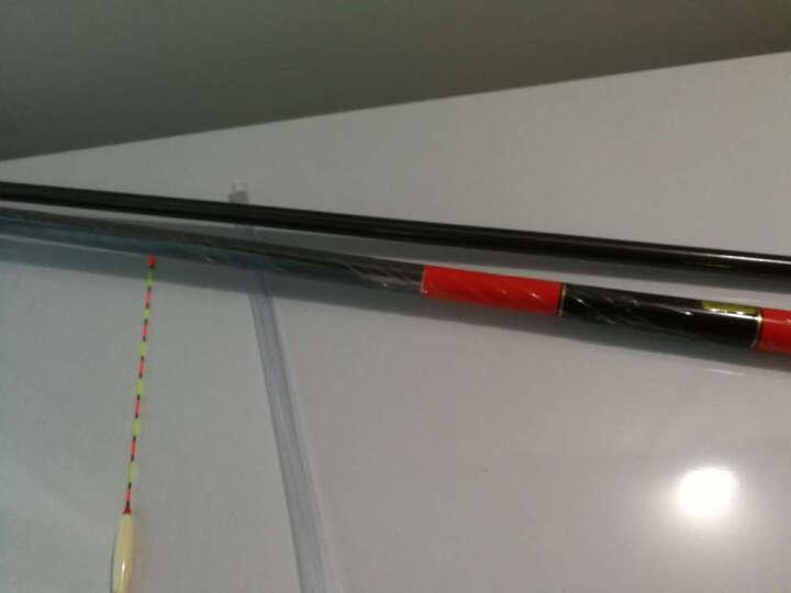 熊火 渔具 鱼影钓鱼竿高碳布46T轻硬 28调台钓竿手钓鱼杆 3.6米 晒单图