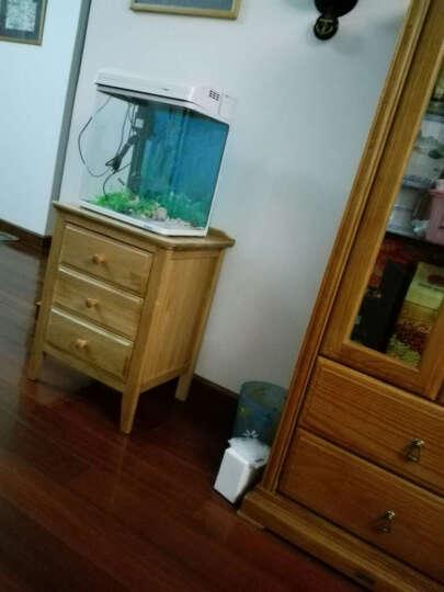 华谊 实木床头柜 橡木床头桌 床边柜子 现代简约床头柜 原木色 晒单图