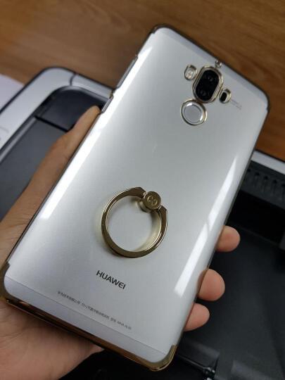 讯迪(Xundd) 华为mate9手机壳 纤薄透明手机套 适用于Mate9/Pro Mate9-钢琴黑-不带指环支架 晒单图