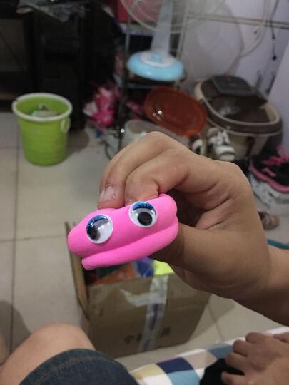 台樱 超轻粘土橡皮泥手工彩泥套装模具儿童益智DIY玩具黏土 24色收纳盒+制作工具 晒单图