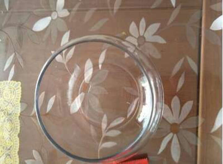 透明圆形金鱼缸 生态创意圆缸玻璃鱼缸大号乌龟缸 35CM圆盆+石子+假草+底座 晒单图