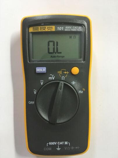 福禄克(FLUKE) F101Kit 升级版掌上型数字万用表 智能磁性挂带多用表 自动量程 仪器仪表 晒单图