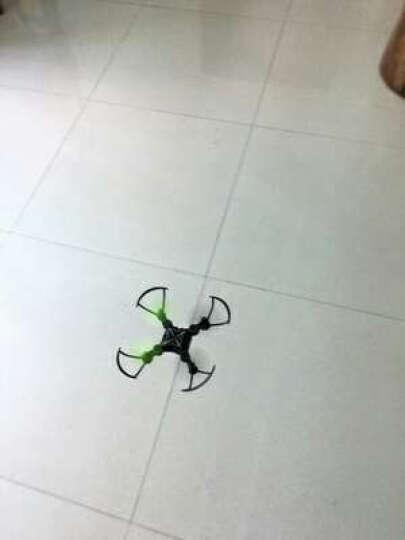 迷你室内遥控飞机无人机高清实时航拍微型四轴飞行器专业航模小型充电直升机耐摔男孩儿童玩具礼物 闪光绿【折叠定高实时航拍】 晒单图