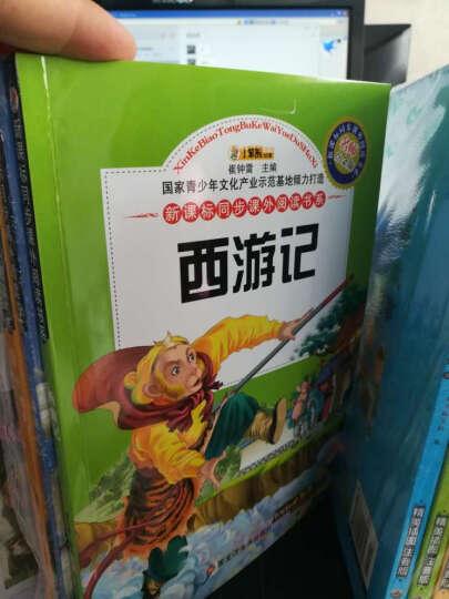 少儿童四大名著全套学生版4册 彩图注音版西游记三国演义红楼梦水浒传古典名著 一二年级课外书 晒单图